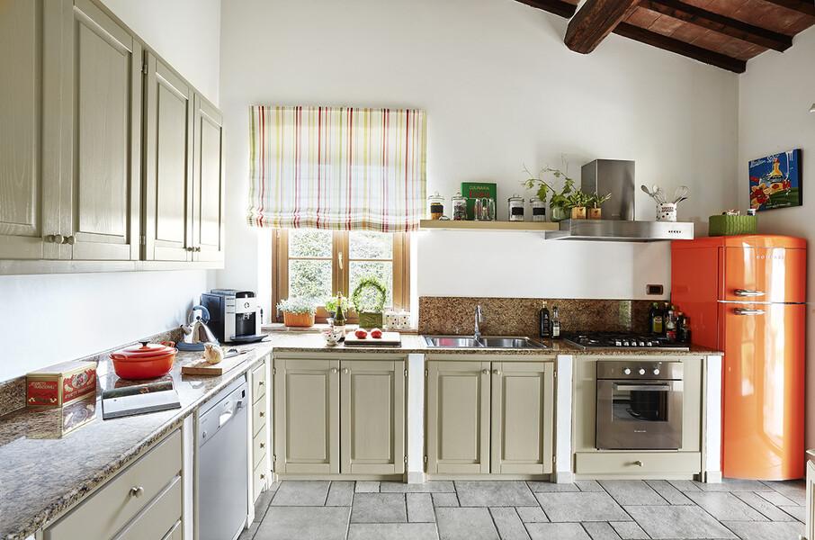 Küche im Ferienhaus Casa Il Sogno in Umbrien Italien