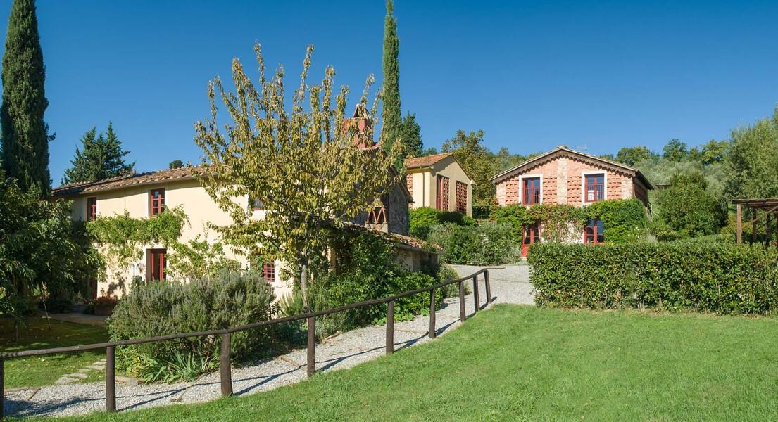 Ruhig und idyllisch gelegen - das Ferienhaus Le Casine