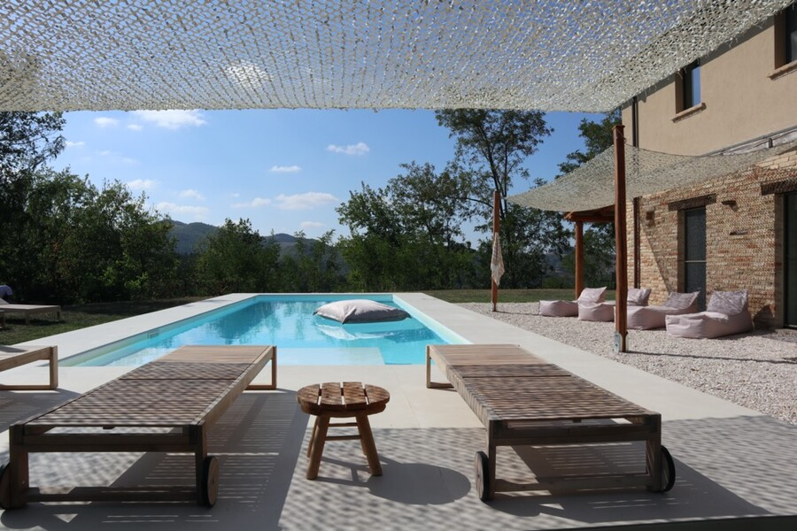 Villa Casa Fontegenga in Le Marche with private pool