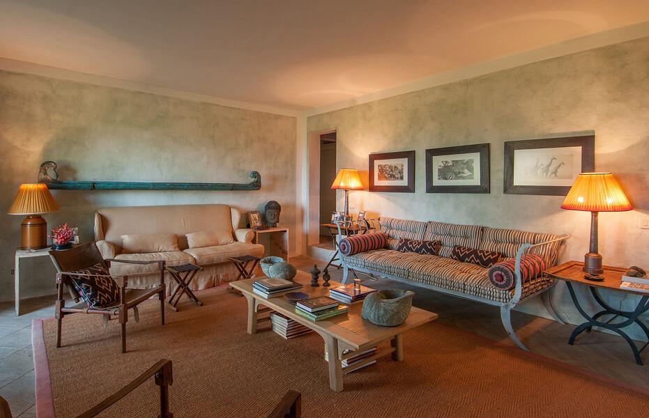 Auch bei schlechterem Wetter bietet das Ferienhaus Fontanelle genug Raum für unvergessliche Tage in der Toskana