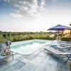 Privater Pool im Ferienhaus im Piemont Cascina Monferrato
