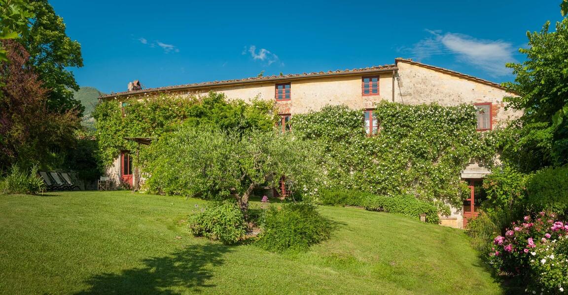 Das Ferienhaus Le Casine besticht durch seine typische, regional übliche Architektur