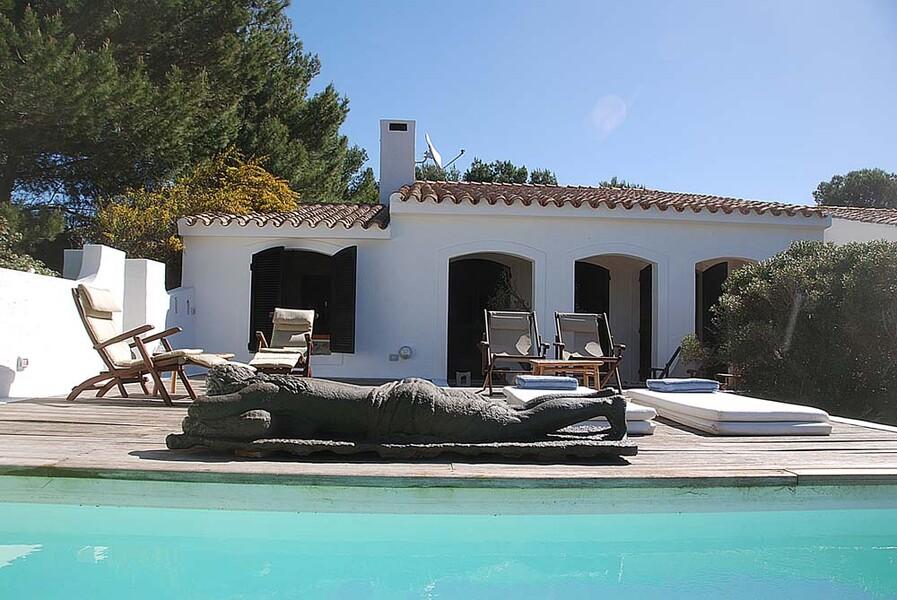 Ferienhaus Casa dei Lentischi auf Sardinien mit Pool und Sonnenliegen