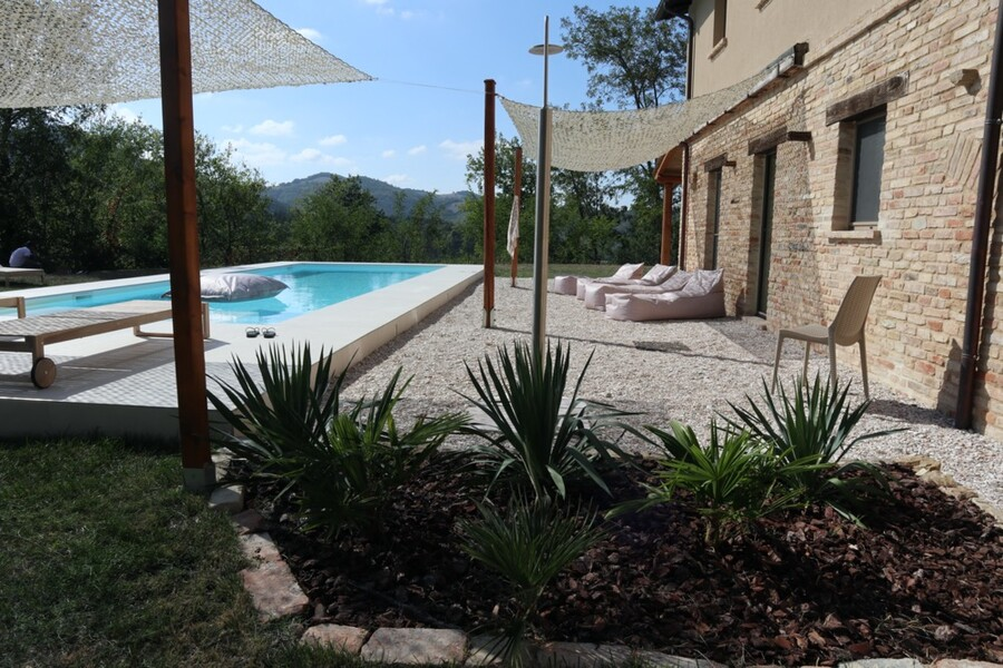 Holiday villa in Le Marche with private pool Casa Fontegenga