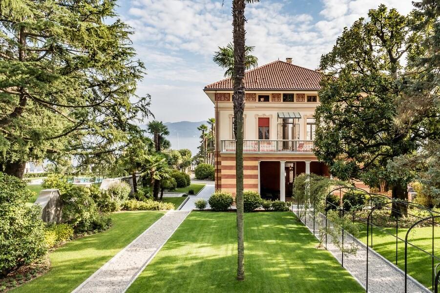 Villa Orsi am Lago Maggiore in Cannero Riviera