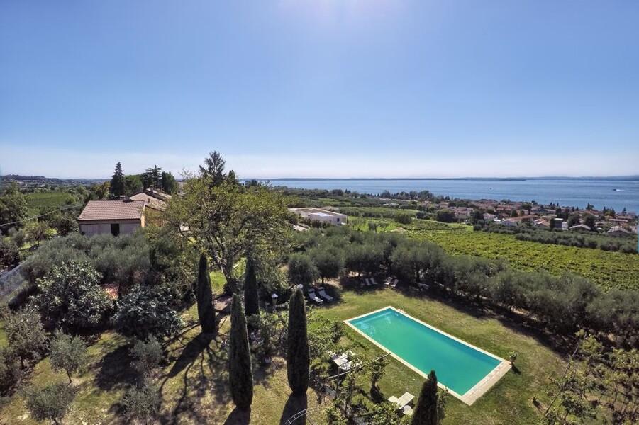 Villa i Broi mit Garten und privatem Pool am Gardasee