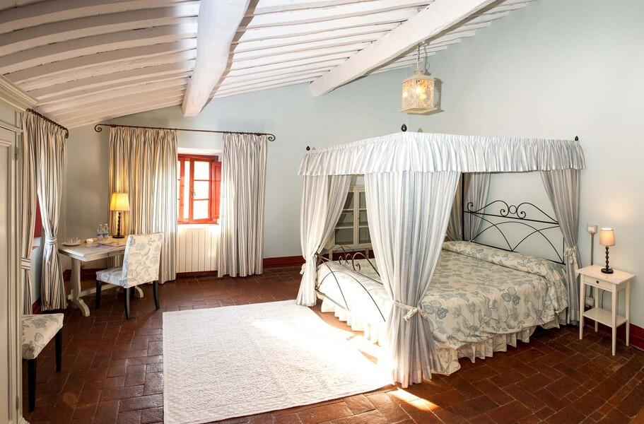 17 individuell eingerichtete Schlafzimmer erwarten Sie im Le Casine